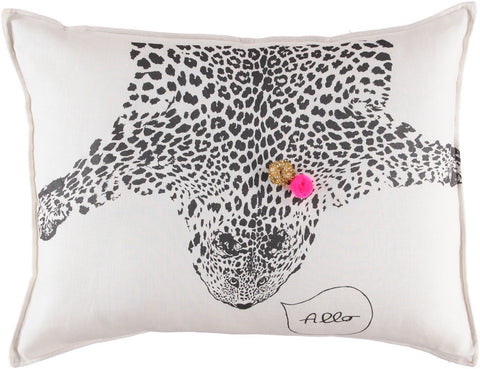 CUSHiON - GRAND - LEO ON MiLKY WHiTE (COVER ONLY)