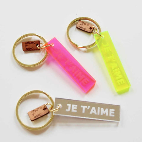 KEY HOLDER - JE T'AiME