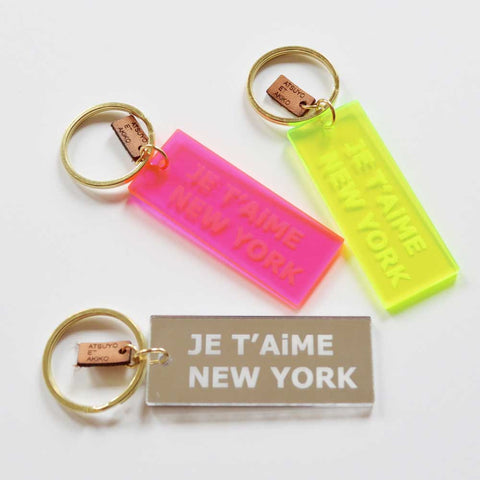 KEY HOLDER - JE T'AiME NEW YORK