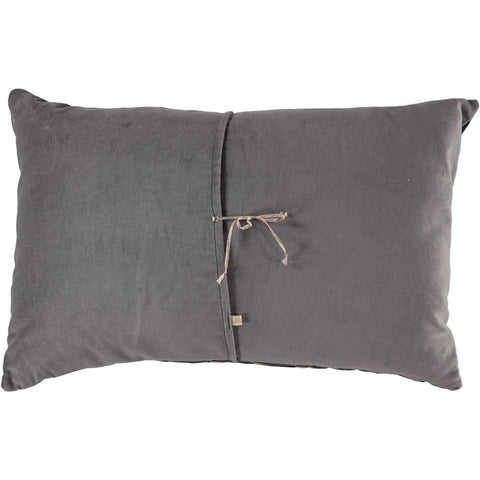 CUSHiON - GEOMETRiC - CHARCOAL