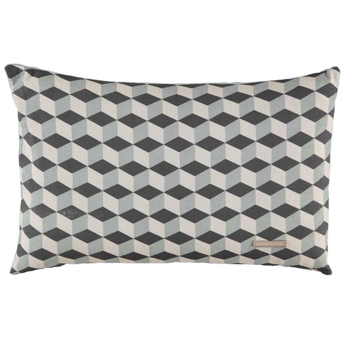 CUSHiON - GEOMETRiC - MYSTiC BLUE