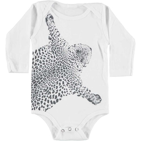 A-ONESiE LONG SLEEVE - LEO No.2 - WHiTE