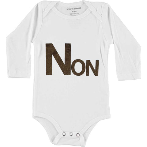 ONESiE LONG SLEEVE - NON - WHiTE