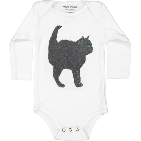 A-ONESiE LONG SLEEVE - CHAT NOiR