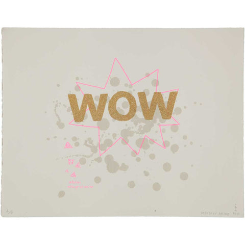 WALL ART - WOW GOLD GLiTTER