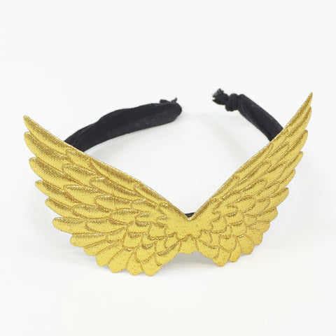 PEGASUS HEADBAND - GOLD/BLACK
