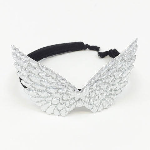 PEGASUS HAiRBAND - SiLVER/BLACK