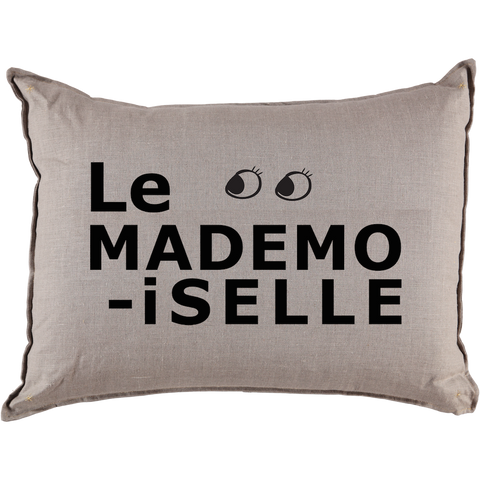 Le Mademoiselle Grand Cushion in Coconut (Cover Only)