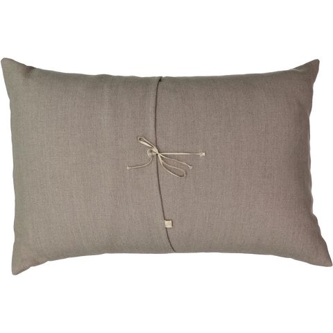 Trois Couleurs Linen Cushion in Coconut