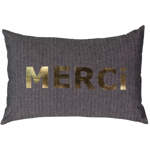CUSHiON - TRiOS COULEUR - LiNEN COCONUT