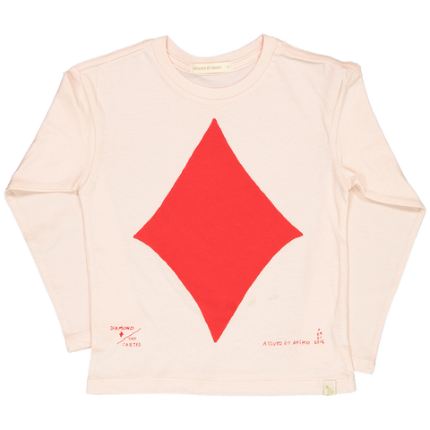 LARA LONG SLEEVE TEE - CARTE DiAMOND