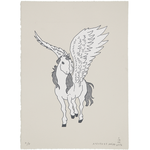 WALL ART - PEGASUS in SiLVER