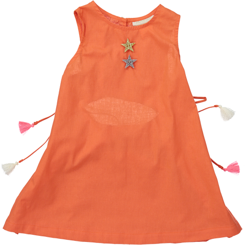 DRESS - MiA - ORANGE