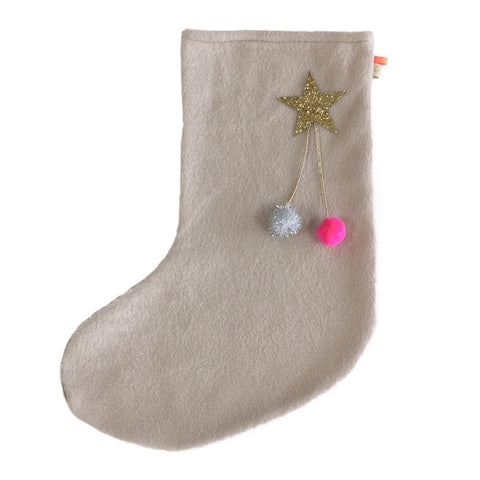 DEAR SANTA - X'mas STOCKiNG iN CREAM