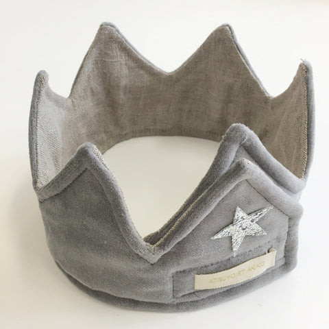 Lune Headband in Charcoal