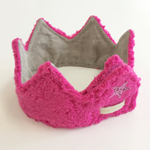 A-Iris Headband in Hot Pink