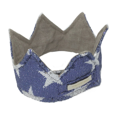 Planètes Headband in Blue