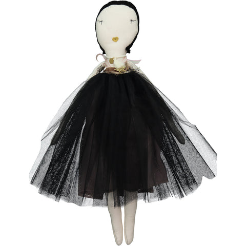 Doll Dress in Black - Ivy Tutu