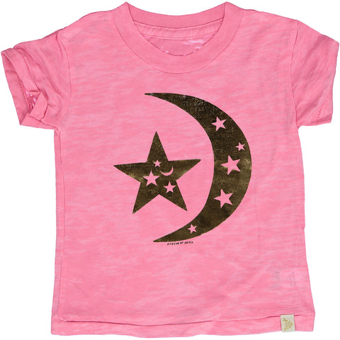 A-TEE - BURNOUT TEE - DREAM PiNK