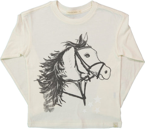A-Lara Long Sleeve Tee - CHEVAL