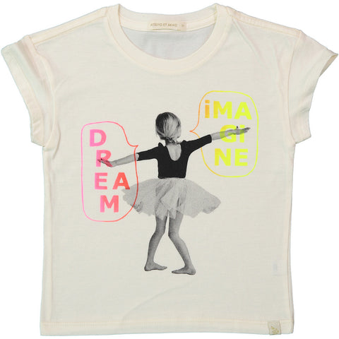 A-Imagine Lara Short Sleeve Tee