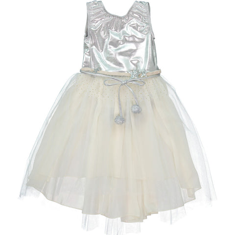 A-Loulou Dress in Silver