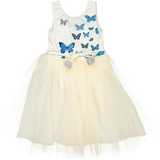 Papillons dress in Blue