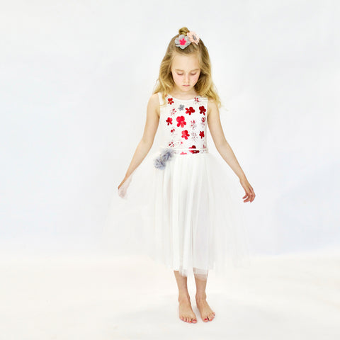 Le Bouquet Dress in Ivory