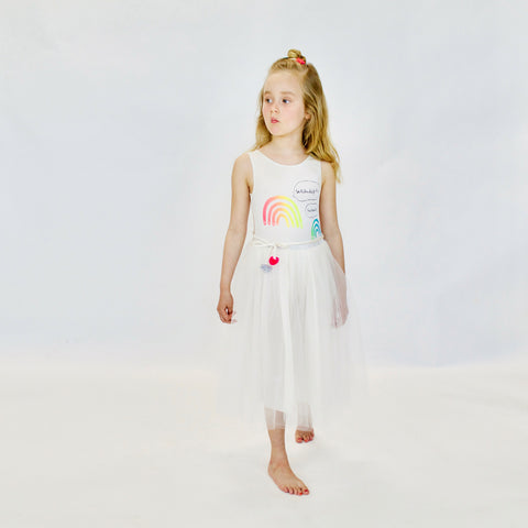 DRESS - L'ARC EN CiEL DRESS - iVORY