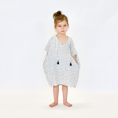DRESS - TERRE - CHECKERED