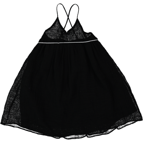 DRESS - PLANÈTES - BLACK