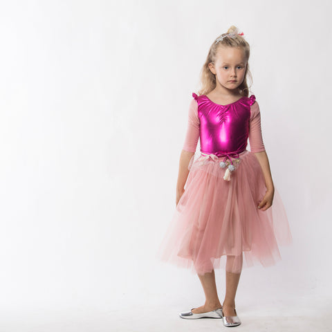 A-Loulou Leotard in Pink