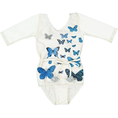 LEOTARD - PAPiLLONS  - BLUE