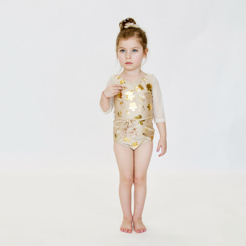 LEOTARD - Le BOUQUET  - BEiGE