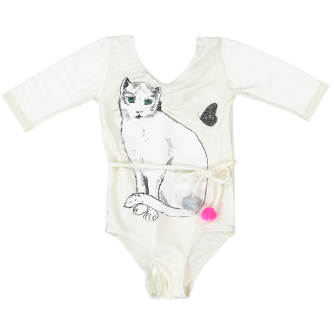 LEOTARD - CHAT BLANC  - iVORY