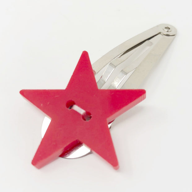 Étoile Hairpin in Red 1