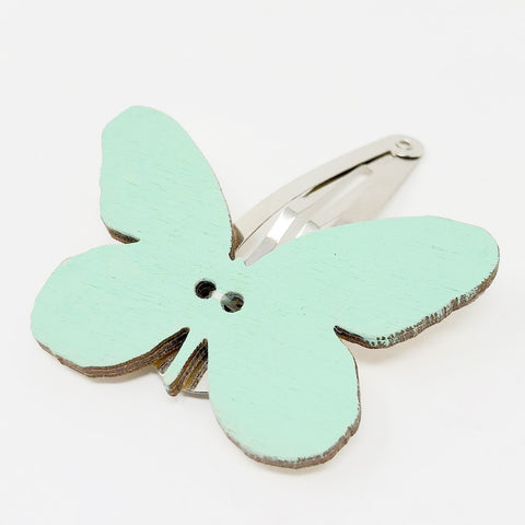 Papillon Wooden Hairpin