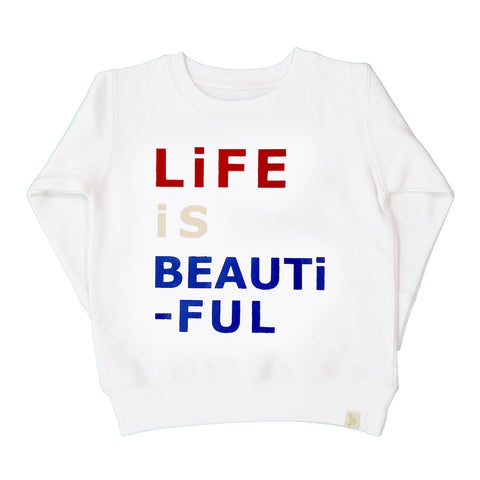 AA-Life Is Beautiful Long Sleeve Pullover