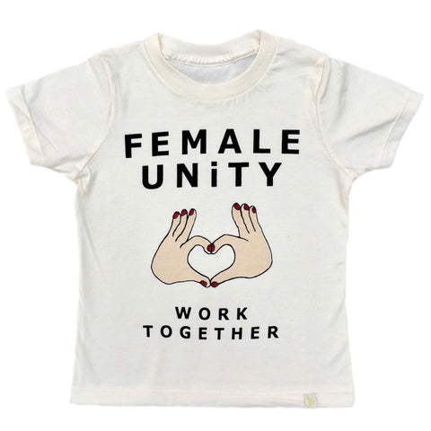 Crew Tee - Female Unity in Natural
