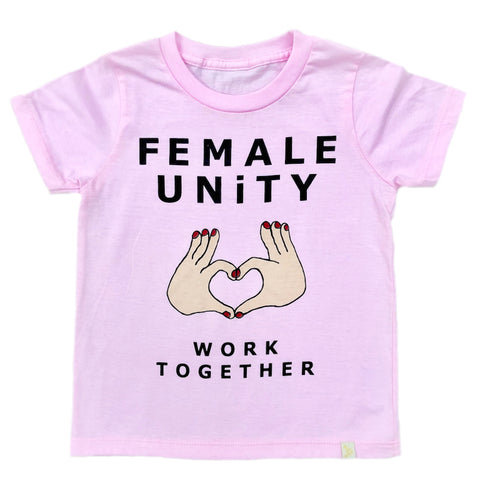 Crew Tee - Female Unity in Pink