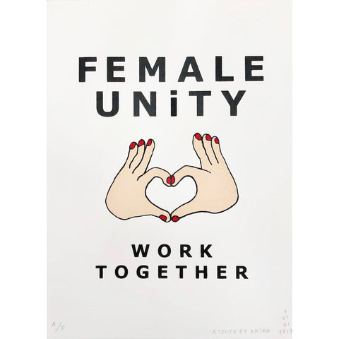 Female Unity Wall Art