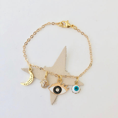 Team Amulet Bracelet - Pear