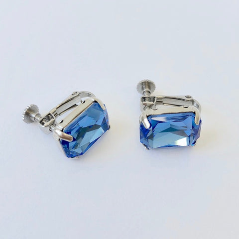 RHINESTONE EARRING - SEPTEMBER