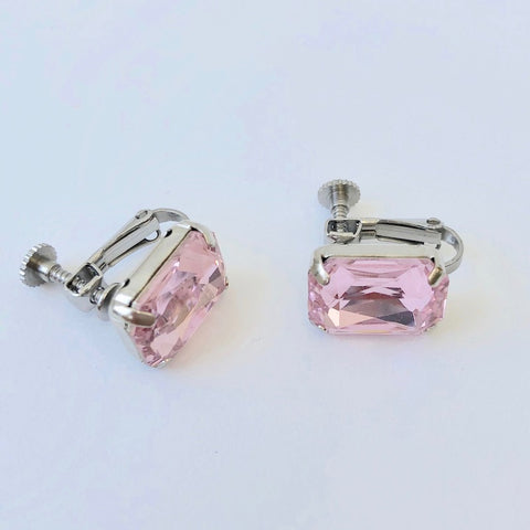 RHINESTONE EARRING - OCTOBER