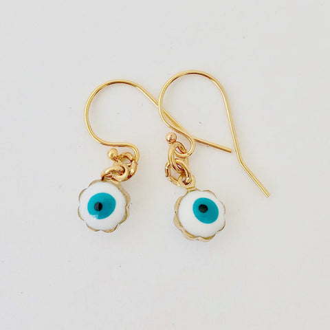 Gold Filled Pierce - Enamel Eye