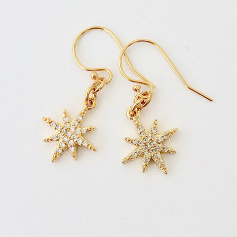 Gold Filled Pierce - Golden Star