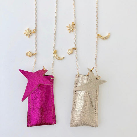NECKLACE - BFF (SET OF 2) - PiNK/GOLD