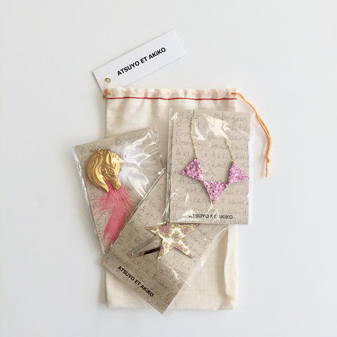 ACCESSORiES SET x 3 (ASSORTED)  - GiFT FOR GiRL