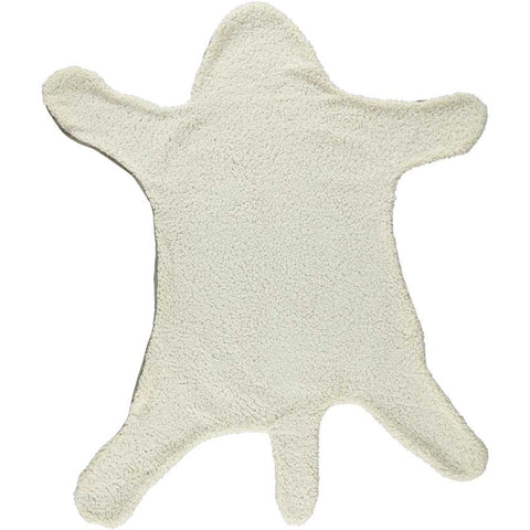 Leo Throw Blanket in Ivory