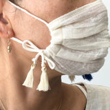 Cotton Gauze Face Mask - Terre - Adult size